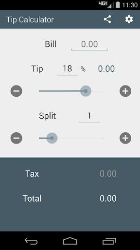 Fast Tip Calculator