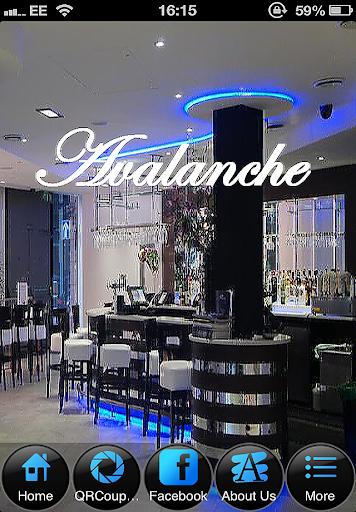 avalanche bar and restaurant