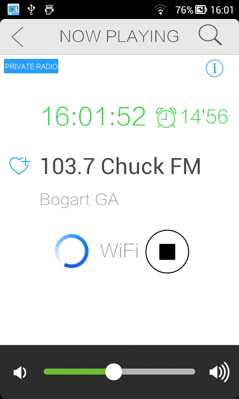 Georgia Internet Radio - screenshot