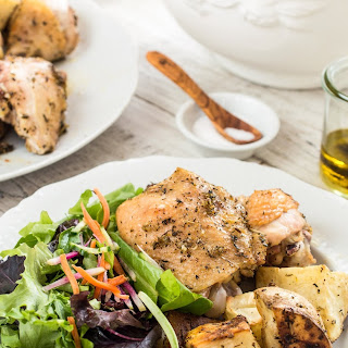 Chicken and Potato Sheet-Pan Supper