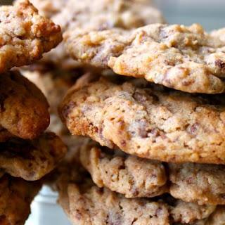 Malt Ball Pretzel Gooey, Chewy Crunchy Cookies.