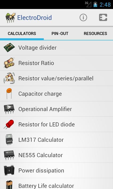 ElectroDroid Pro - screenshot