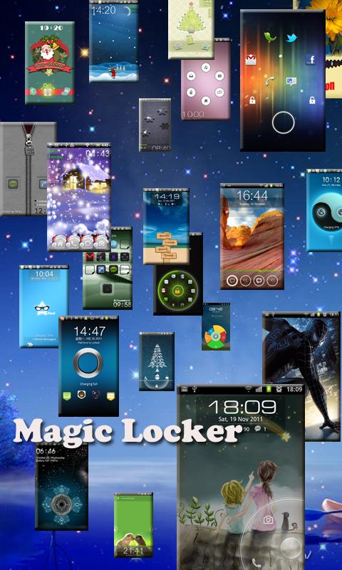 Tear Coupon Magic Locker Theme - screenshot