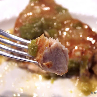 Easy Crock Pot Pork Chops with Gravy.