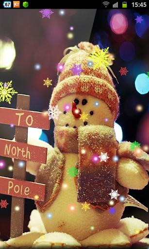 Plush Snowmen New Year Free HD