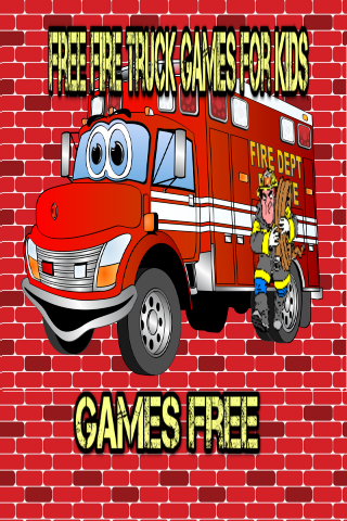 FREE FIRE TRUCK GAMES FOR KIDS
