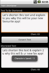 Text Shortener