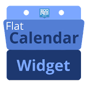 Flat Calendar Widget - Zooper