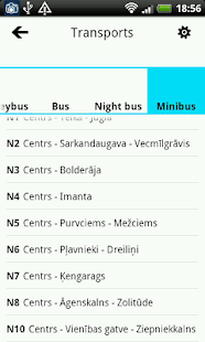 RIGA PUBLIC TRANSPORT - screenshot thumbnail