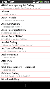 Noaptea Galeriilor 2013- screenshot thumbnail