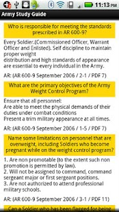 Army Study Guide - screenshot thumbnail