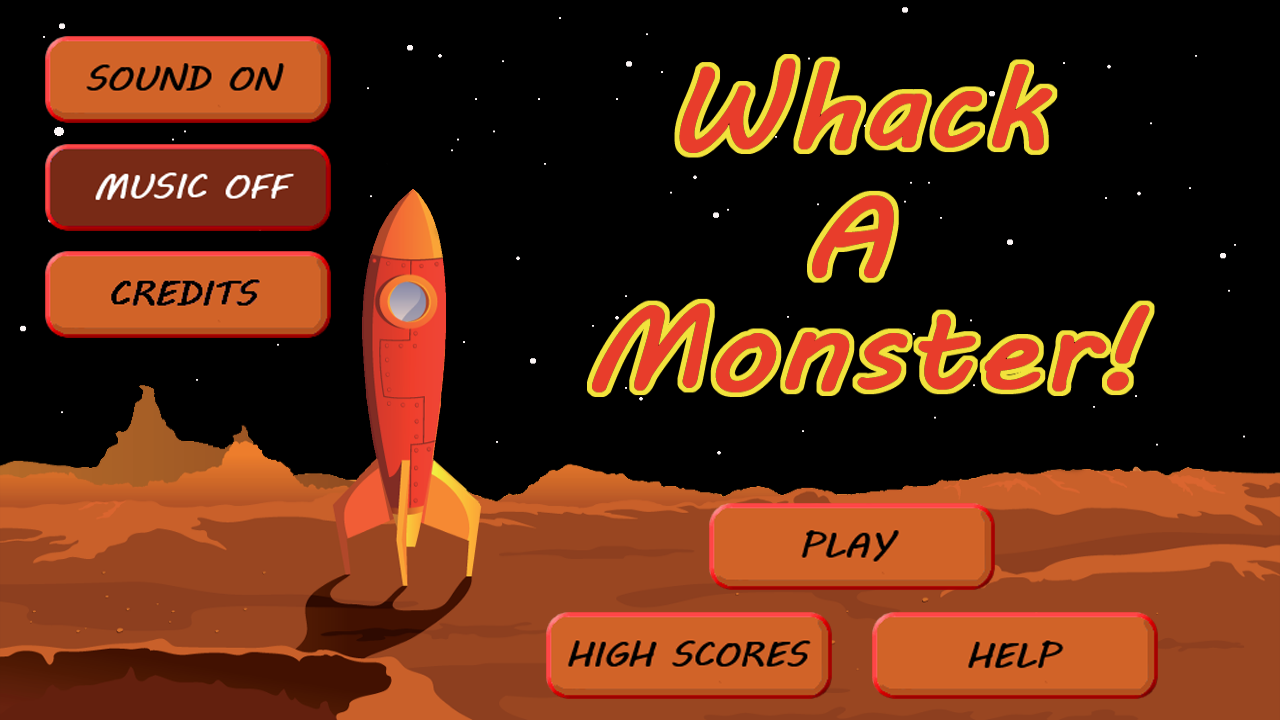 Whack a Monster!- screenshot