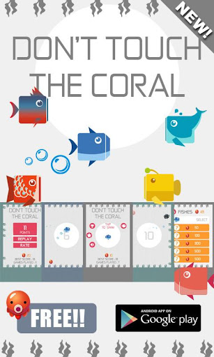 Don't touch the coral