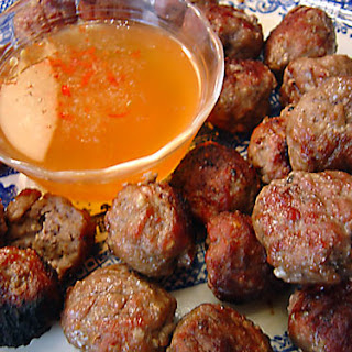 Vietnamese Meatballs recipe – 85 calories.