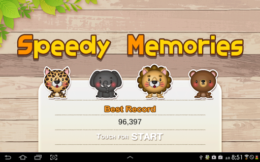 Speedy Memories