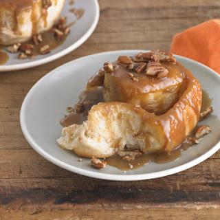Sticky-Sweet Pecan Caramel Rolls.
