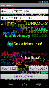 Color Madness! - screenshot thumbnail