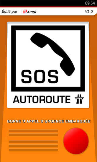 SOS Autoroute 3.0.2- screenshot