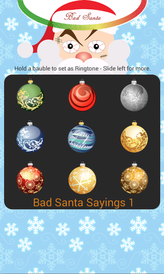 Bad Santa- screenshot