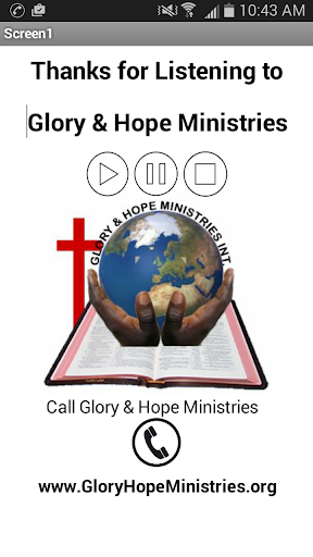 Glory Hope Ministries