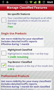 Geolist Free Classifieds - screenshot thumbnail