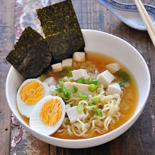 4 Ingredient Tofu Miso Ramen.
