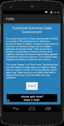 FOSQ Questionnaire