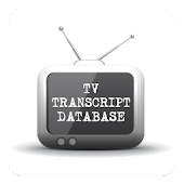 TV Transcript Database