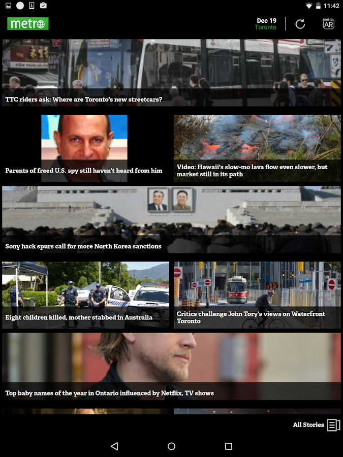 Metro News Canada - screenshot