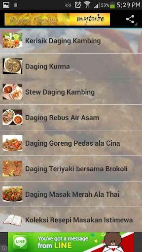 Resepi Masakan Daging 4