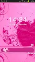 Screenshot of Locker Theme Pink Heart
