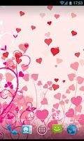 Screenshot of Heart & Feeling Live Wallpaper