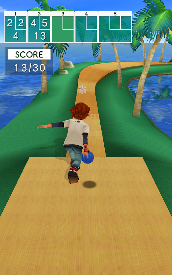 Bowling Islands- screenshot