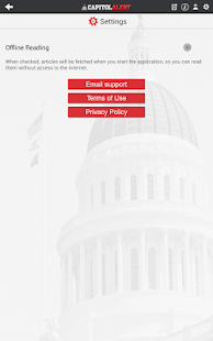 Capitol Alert- screenshot thumbnail