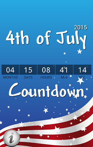 4th of July Countdown 2015