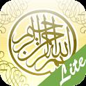 (Adhan, Qibla) MuslimDailyLite logo