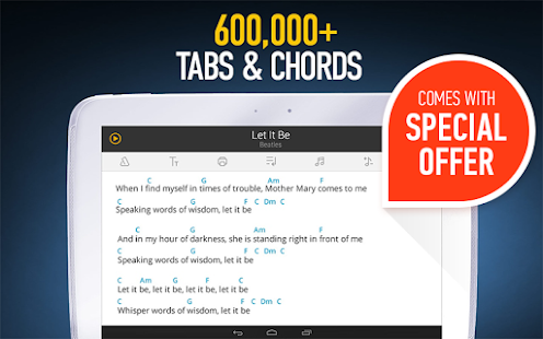Ultimate Guitar Tabs & Chords - screenshot thumbnail