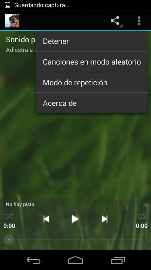 Silbato para perros- screenshot