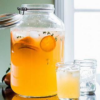 Tangerine Thyme Cooler.