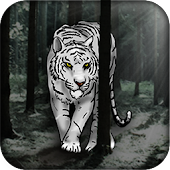 Download White Tiger Live Wallpaper APK to PC