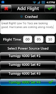 T3chDad® RC Flight Log - screenshot thumbnail