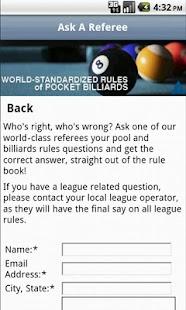 Official Billiard Rules- screenshot thumbnail