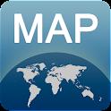 Mapa de Marsella offline icon