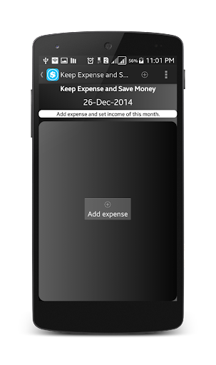 Keep Expense and Save Money