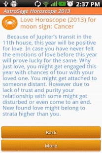 Horoscope 2014- Astrology 2014 - screenshot thumbnail