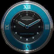 lightblue snake clock widget icon