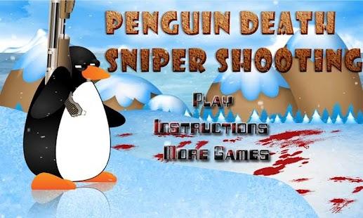 Penguin Death:Sniper Shooting