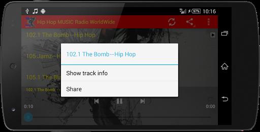 Hip Hop MUSIC Radio WorldWide  screenshots 7