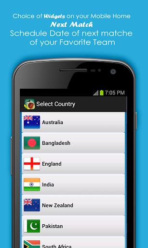 Live Cricket Scores & Schedule 1.6 screenshots 7