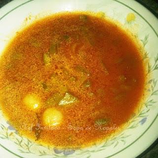 Nopal Soup.